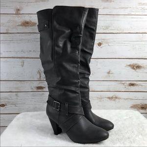 Rampage elesa tall dark grey boots